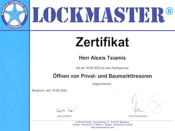 Zertifizierter Tresoröffner Dortmund